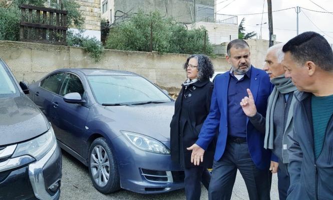 """نواب المشتركة يزورون شعفاط بعد جريمة """"تدفيع الثمن"""""""