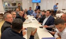 نواب المشتركة يبحثون قضايا المواصلات في منطقة الناصرة