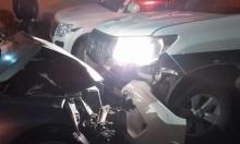 كفر قرع: مطاردة بوليسية تتسبب بحادث طرق