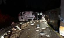 إصابتان في حادث طرق قرب سخنين