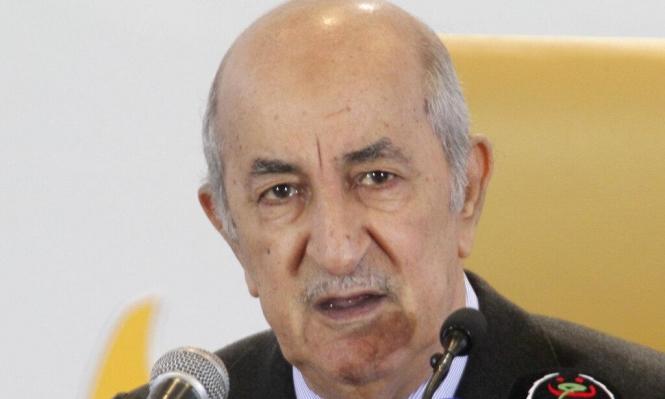 """دعوة لـ""""حوار جاد"""": الرئيس الجزائري المنتخب """"يمد يده للحراك"""""""