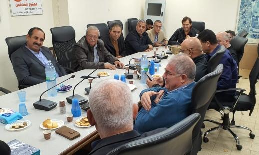 المتابعة والقطرية تتضامنان مع رئيس مجلس جديدة المكر