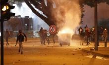 """لبنان: إحراق مكتبين لـ""""الوطني الحرب"""" و""""المستقبل"""" في عكار"""