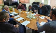 طمرة: البلدية والشعبية والمبادرة الشبابية تناقش قضية اتحاد المياه