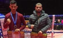 محمد خلايلة يتوّج بالميدالية الفضية ببطولة عالمية للكيك بوكس