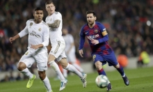 """""""كلاسيكو الأرض"""": برشلونة وريال مدريد يفترقان بالتعادل"""