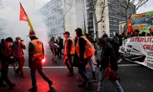 إضراب العمال الفرنسي يدخل يومه الـ15