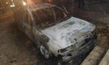 إرهابيون يهود يحرقون سيارات بقرية قرب قلقيلية