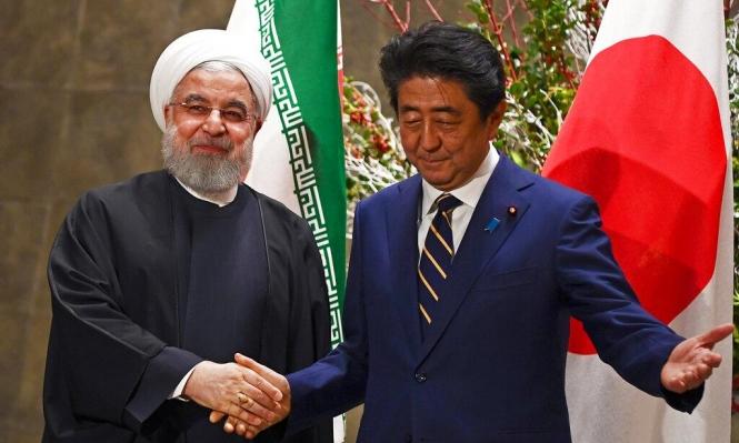 روحاني: نأمل بجهود يابانية للمحافظة على الاتفاق النووي