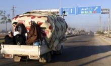 إدلب: 12 قتيلا ونزوح عشرات الآلاف جراء غارات للنظام وروسيا