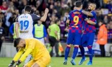 برشلونة يسحق ألافيس برباعية مقابل هدف