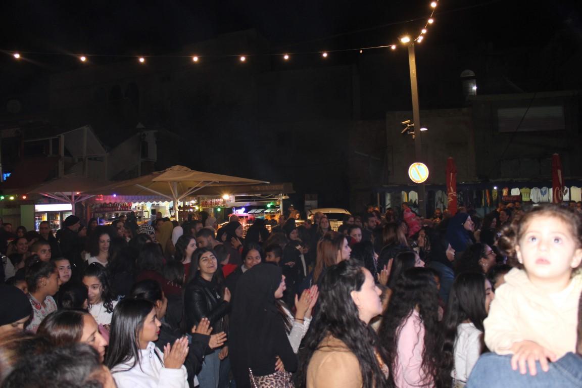 عكا: مشاركة واسعة في مهرجان كريسماس آرت ماركت