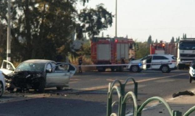 يافا: فجرا العبوة الناسفة بالسيارة بهدف قتل الشاهدة