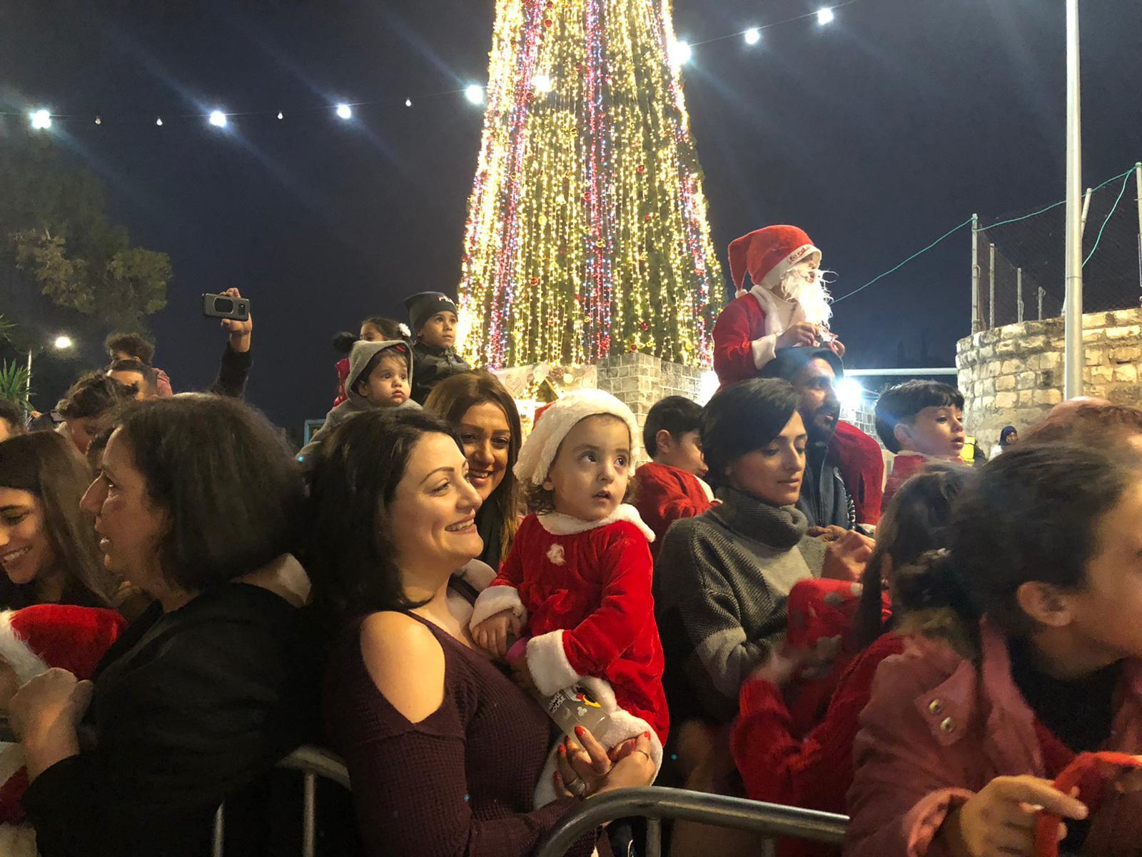 الناصرة: مسيرة الميلاد الـ37 بأجواء احتفالية