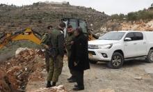 نابلس: تجريف أراضي للفلسطينيين لتوسيع المشروع الاستيطاني