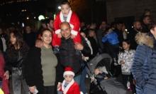 كفر كنا: مشاركة واسعة في مسيرة الميلاد