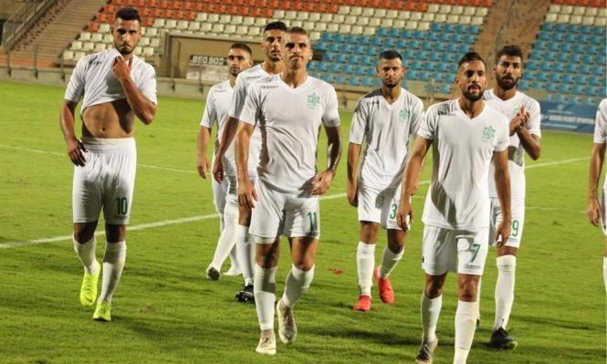 مباراة الديربي بين أبناء اللد والأخاء تنتهي بالتعادل