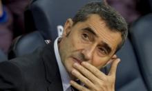 برشلونة يحسم مصير مدربه