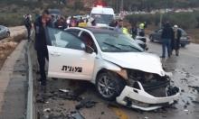 4 إصابات في حادثي طرق قرب سخنين وإكسال