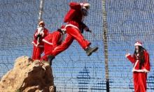 كيف يمكن أن يحقق بابا نويل الأمنيات بينما يحاصره الاحتلال؟