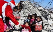 """على أنقاض ما هدمه الاحتلال.. إصرار فلسطيني على """"ميلاد"""" يتجدّد"""
