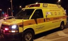 6 إصابات بحادث طرق قرب اللد