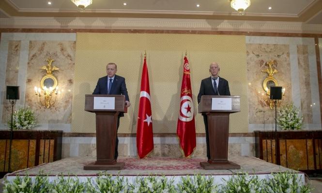 تونس: سعيد وإردوغان يبحثان الأوضاع في ليبيا والتعاون بين البلدين