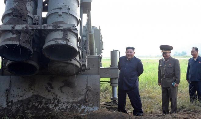 ترامب: كوريا الشمالية قد تختبر صواريخ جديدة بعيد الميلاد