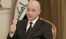 الرئيس العراقي يعتذر عن تكليف العيداني ويهدد بالاستقالة
