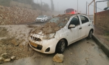 البلدات العربية: سيول وفيضانات وأضرار لمنازل وسيارات