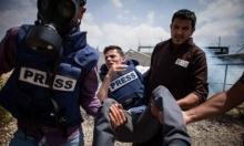 صحافيو فلسطين يتركون خلفهم عامًا مليئًا بالانتهاكات