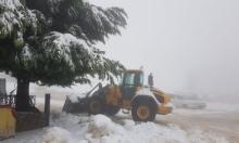 تواصل تساقط الثلوج: جبل الشيخ مغلق أمام الزوار