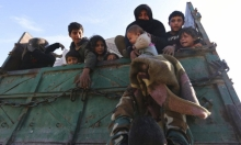 47 ألف نازح سوري مدني من إدلب في 3 أيام