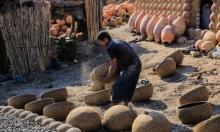 """قرية النزلة المصرية.. تحفة فنيّة """"مصنوعة"""" من الفخار"""