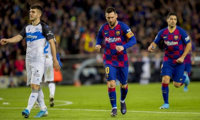 برشلونة يعود لمواصلة تدريباته بدون ميسي
