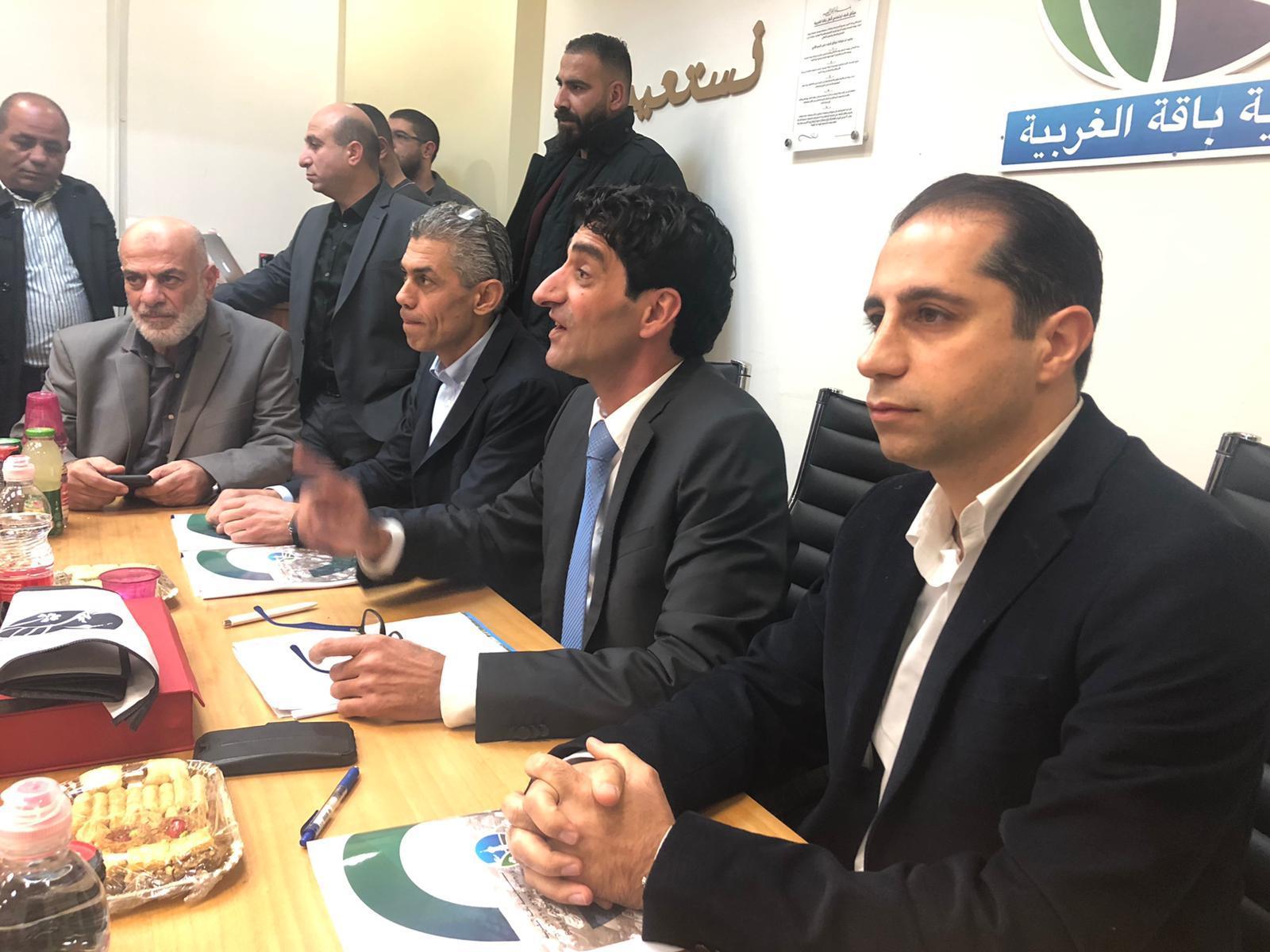 خلال تسلم الإدارة: رائد دقة يدعو لائتلاف شامل في بلدية باقة الغربية