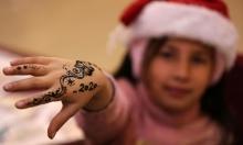استقبال العام الجديد في غزة