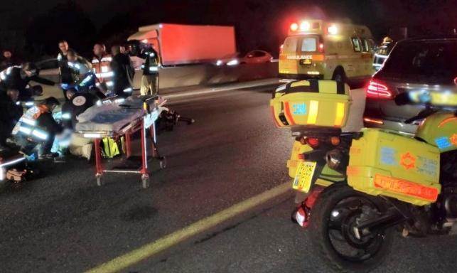 وادي عارة: إصابة خطيرة لشاب جراء حادث دهس