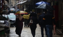 نابلس.. الشوارع العتيقة عابقة برائحة المطر