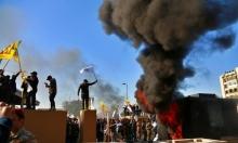 5  صواريخ استهدفت قاعدة عسكرية وسفارة أميركا ببغداد