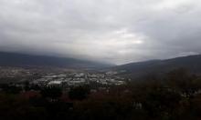 حالة الطقس: منخفض جوي ورياح باردة وأمطار