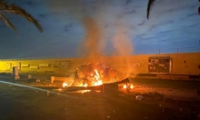 قصف يستهدف معسكرات قرب البوكمال السورية