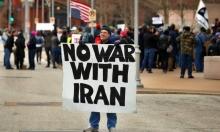 واشنطن: تظاهر المئات ضد الحرب مع إيران