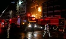 مصرع 7 أفراد من أسرة مصرية واحدة إثر حريق