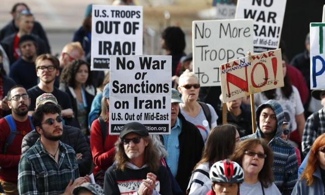 التوتر الأميركي الإيراني: حراك دولي ومظاهرات رفضا للحرب