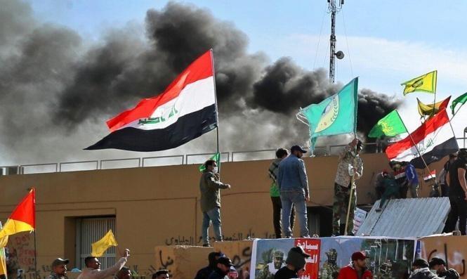 العراق: سقوط 5 صواريخ في محيط السفارة الأميركية وإصابة مدنيين