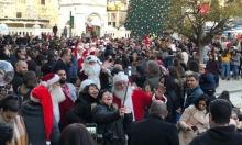 الناصرة: مشاركة واسعة في مسيرة عيد الميلاد للكنائس الشرقية