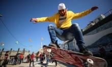 غزّة: وفد إيطالي ينظّم فعاليات رياضة لأطفال القطاع