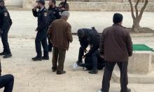 شرطة الاحتلال تعتقل 5 فلسطينيين في المسجد الأقصى