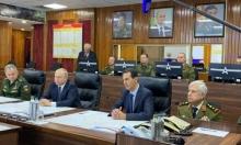 بوتين يلتقي الأسد في دمشق